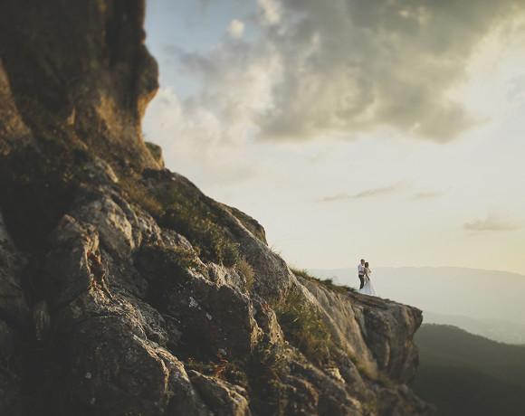 Крым – лучший пейзаж для фотосессии влюбленных