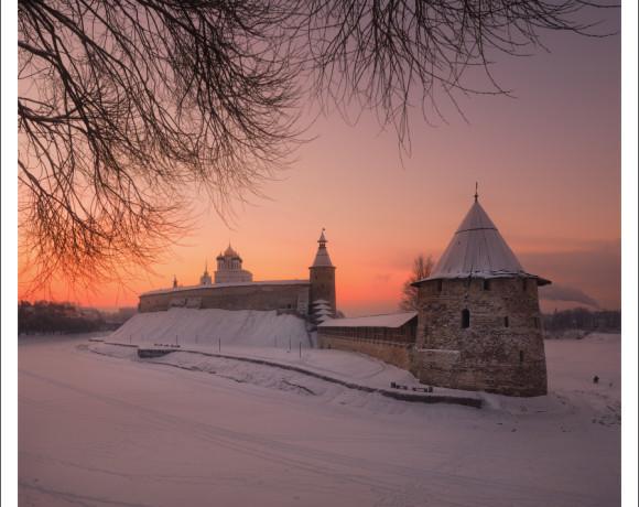 От Москвы до Пскова. Снежный край