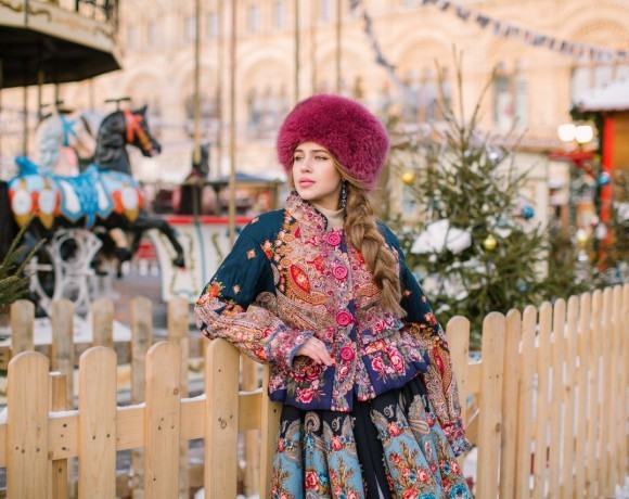 "Фотопроект ""Русская красавица"""