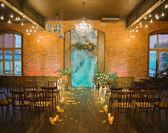 Свадьба в лофте с питерским настроением