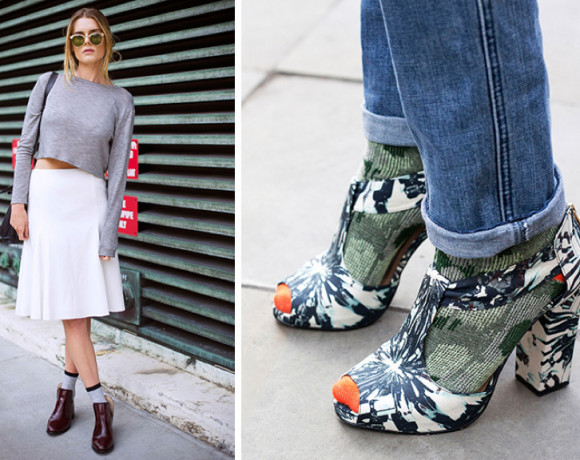 Свежесть, стиль и изящество. Носки с сандалиями!