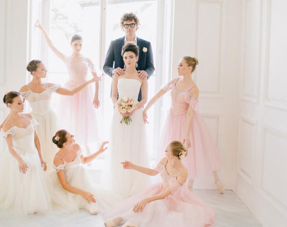 Вдохновение балетом. Стилизованная съемка