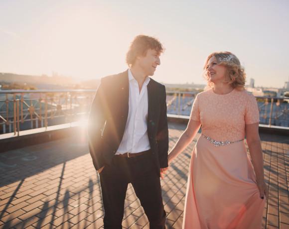 Романтическая прогулка в день 25-ой годовщины