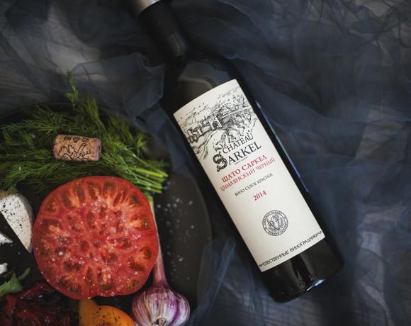 Винный вторник: Шато Саркел Цимлянский чёрный урожая 2014 года