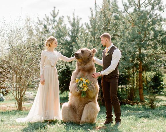 Двое на свадьбе, не считая медведя