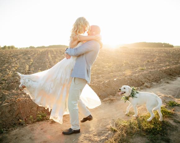 Любовь и свадьба цвета грозовой тучи