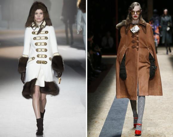 Самые актуальные модели пальто. Зима 2016/17