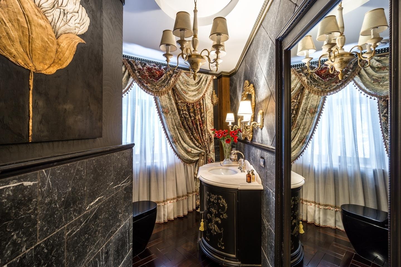 В зависимости от желания хозяина дома пространство ванной комнаты можно  оформить по-разному. Некоторые предпочитают видеть в нем зону релаксации 3b25ee45d364e