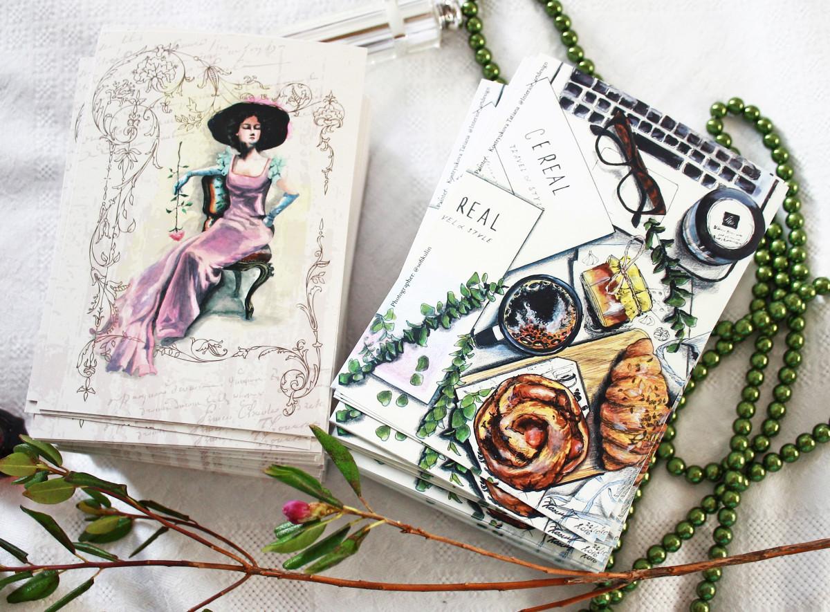 Смешные, дизайнеры по открыткам