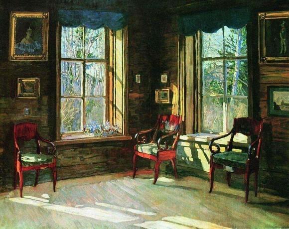 Атмосфера дома: 30 интерьерных картин Станислава Жуковского