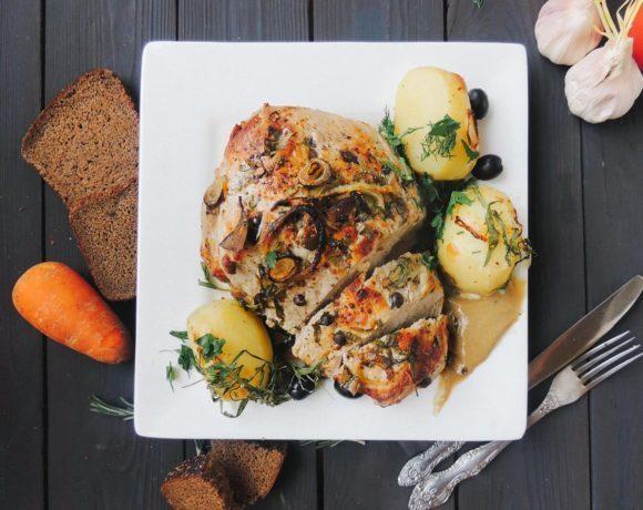 Богатство русской кухни: буженина на березовых поленьях