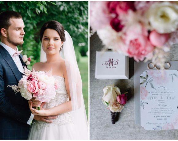 Пионовая свадьба: романтичный праздник в классическом стиле
