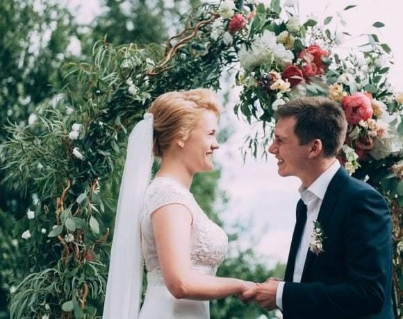 Яркая летняя свадьба с итальянским акцентом