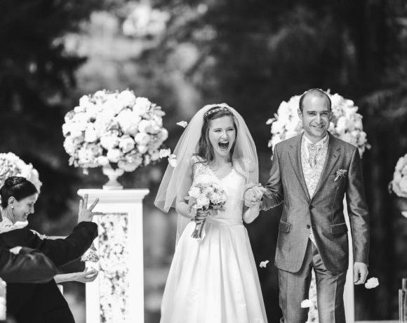 Русско-английская свадьба в старинной усадьбе Середниково