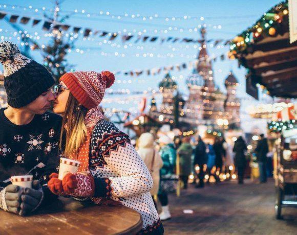 Идеи для романтичного предложения зимой