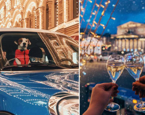 Лучшие фото новогодней Москвы