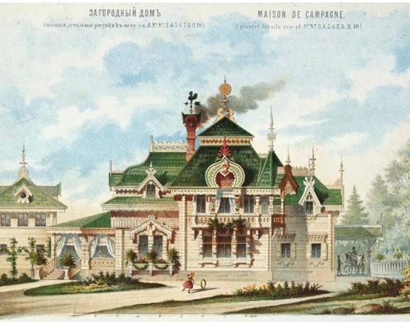 Русский стиль. Архитектура и интерьер
