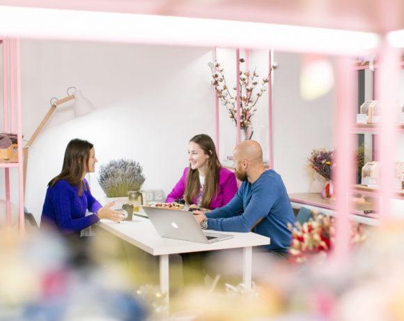 """Интервью с создателями """"Лавандового Замка"""", цветочной студии сухоцветной флористики"""