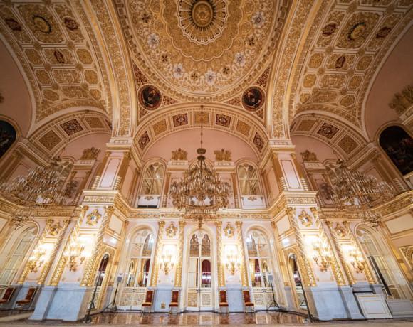 Великолепие и богатство Большого Кремлевского дворца