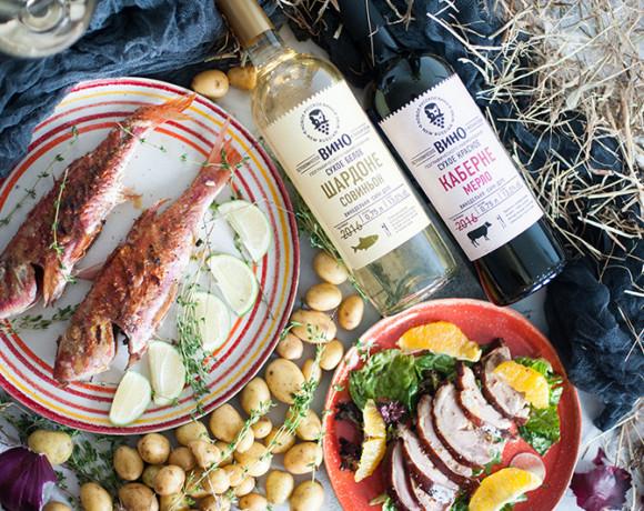 Винный вторник: «Новое Русское Вино». Гастрономические вина Каберне Мерло и Шардоне Совиньон