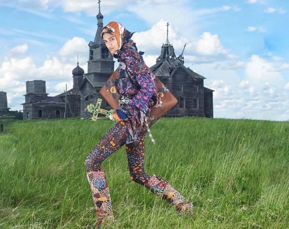 Скандальная фотосессия Vogue Italia в Архангельской области