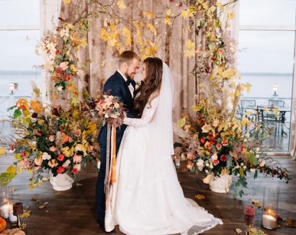 Деревенская осень – семейная свадьба для ценителей уюта