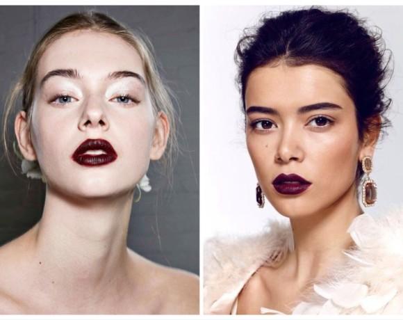 17 средств для макияжа в винных оттенках