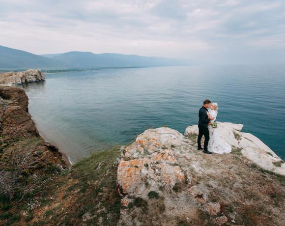 Свадьба для двоих на Байкале