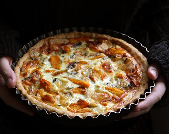 3 рецепта с тыквой: салат, киш и крем-брюле