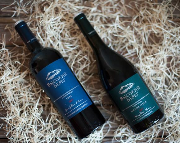 Винный вторник: Кубань-Вино «ВЫСОКИЙ БЕРЕГ» Сира и Мюллер-Тургау