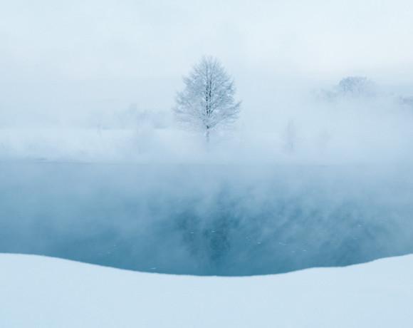 Загадочные виды незамерзающей реки