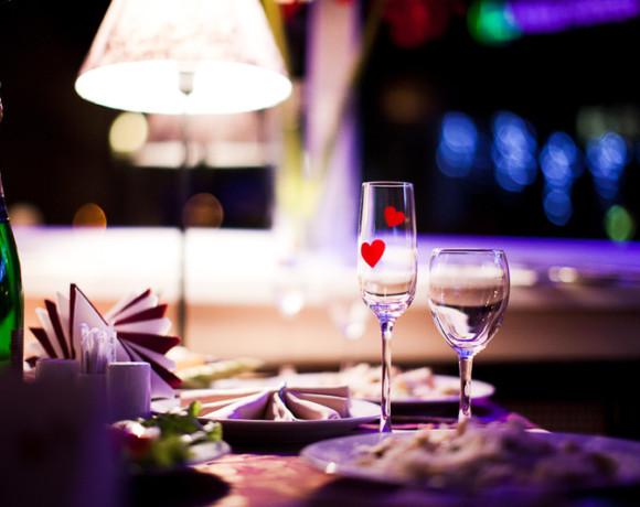 Love in the air: где поужинать с любимыми в День Святого Валентина?