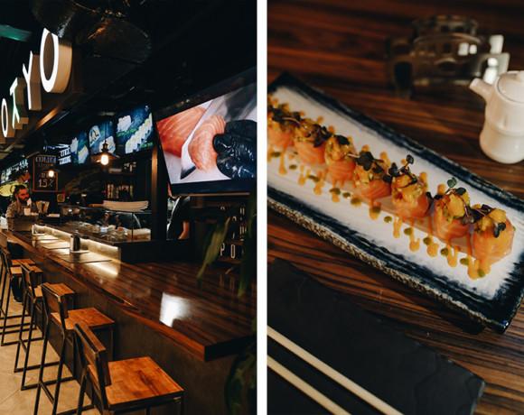 Япония рядом: Tokyo Sushi bar на Центральном рынке