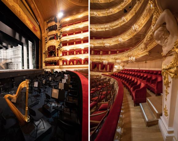 Шикарные интерьеры Большого театра