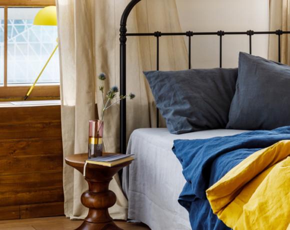 Преображение спальной комнаты при помощи текстиля