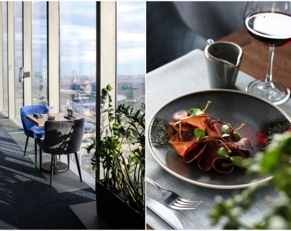 Поужинать на высоте: ресторан Panorama 360