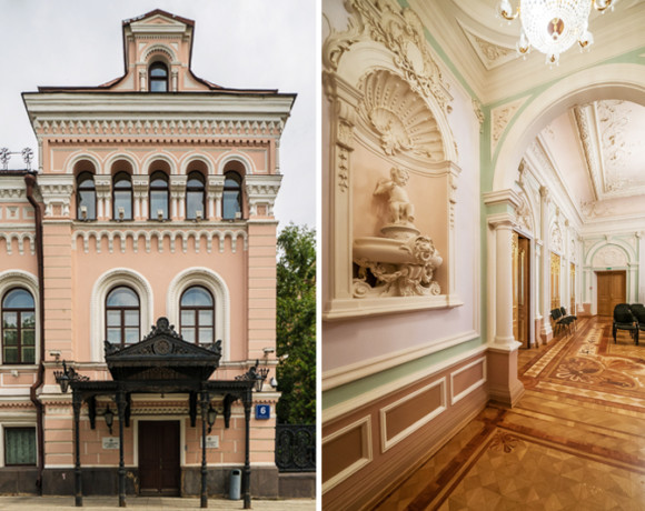 Особняк Третьякова, архитектор Александр Каминский