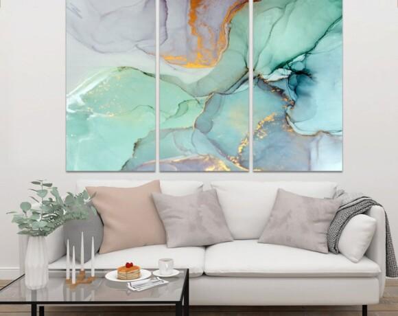 Пять принципов живописи в интерьере