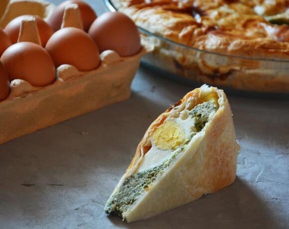 Итальянский пирог «Паскуалина»