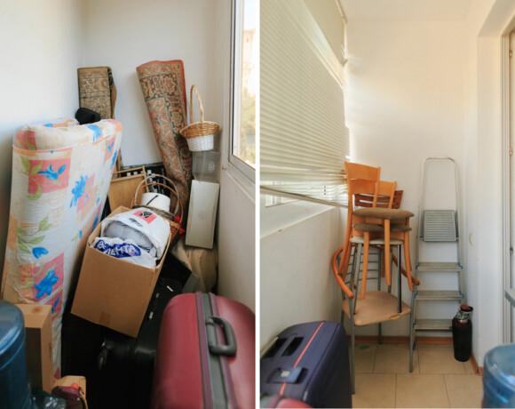 Восставшие из бардака: кладовка, балкон и детская