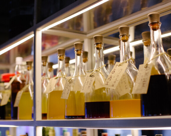 Экобар «Парник»: как запивать бурбон на гречке джином на томате и проснуться без похмелья