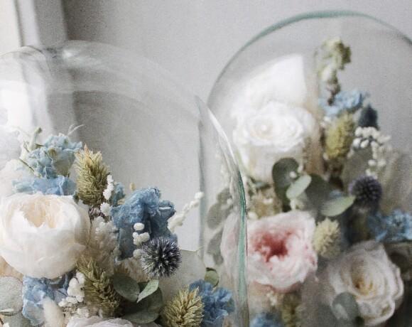 Сказки под стеклом: сухоцветы от Veresk Bureau
