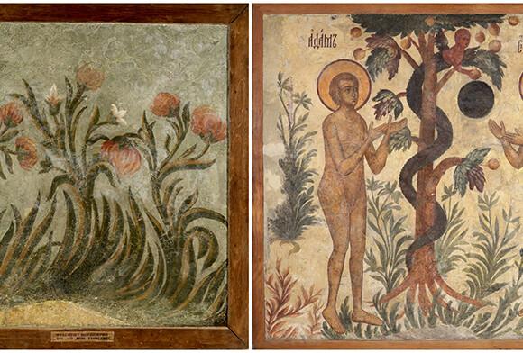Экспозиция «Калязин. Фрески затопленного монастыря»