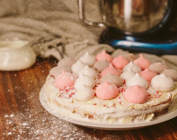 Торт с взбитыми сливками за 15 минут