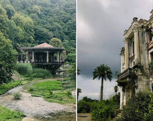 Абхазия: три заброшенных места для настоящих романтиков