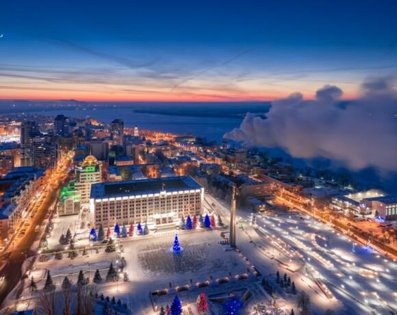 Зимняя Самара за 2 дня