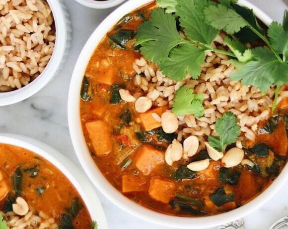 Африканский суп с арахисовой пастой