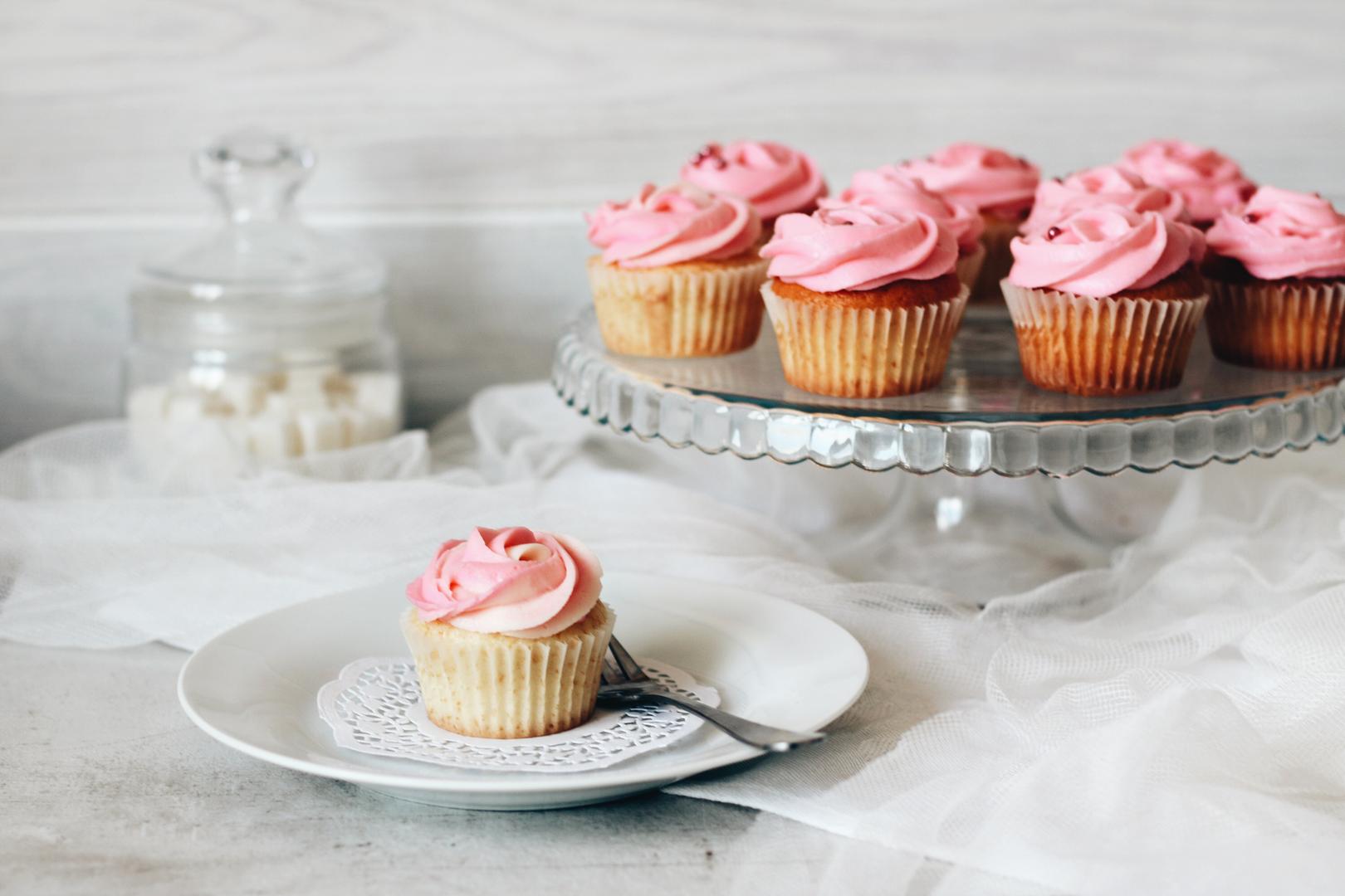 Рецепт ванильных капкейков пошагово