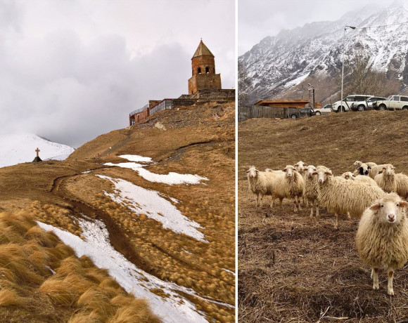 Грузия. Путешествие через Кавказ
