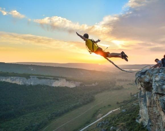 Экстрим: Шаг навстречу или роуп-джампинг в России